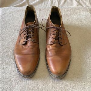 Other - Brown leather shoes, size 10